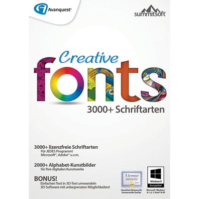Creative Fonts 5 - ESD