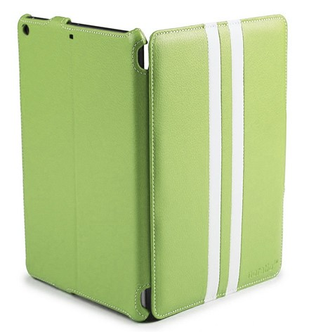 Noratio Smart Cover Retro-Style für iPad Air - grün