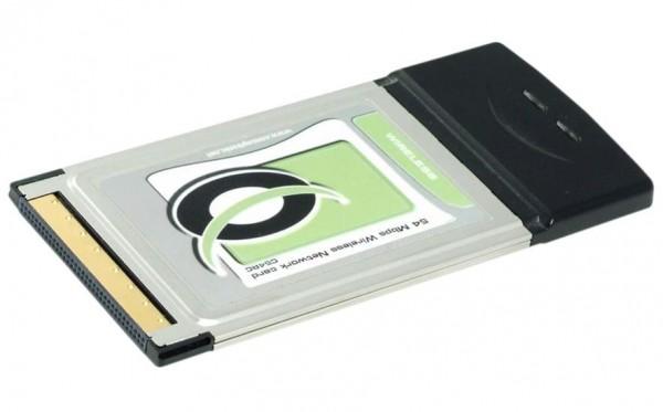 WLAN Steckkarte PMCIA Karte Typ II - 54Mbit/s für Laptops / Notebooks