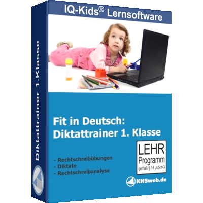 Fit in Deutsch - Diktattrainer - Klasse 1 - ESD