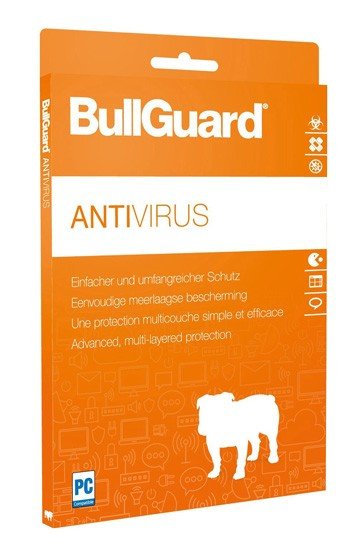 BullGuard Antivirus 2019 / 2020 - 3 User / 1 Jahr - ESD