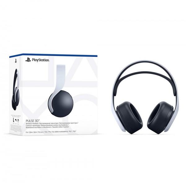 Sony PULSE 3D-Wireless-Headset - Gaming-Headset - weiß / schwarz