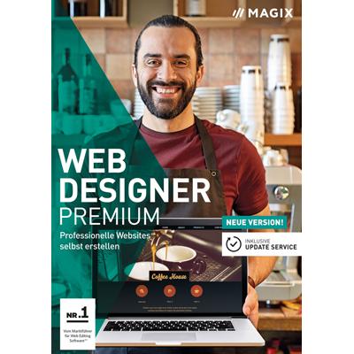 Magix Web Designer Premium (Version 2018) - ESD