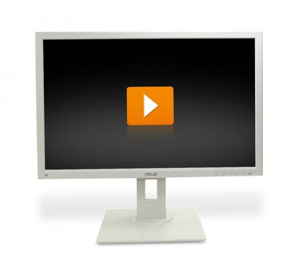 ASUS BE24A - 24 Zoll Full HD TFT Flachbildschirm Monitor - interne Lautsprecher - weiß