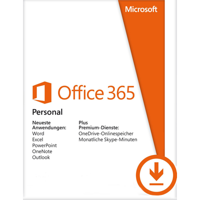 Office 365 Personal - 1 User / 12 Monate - ESD