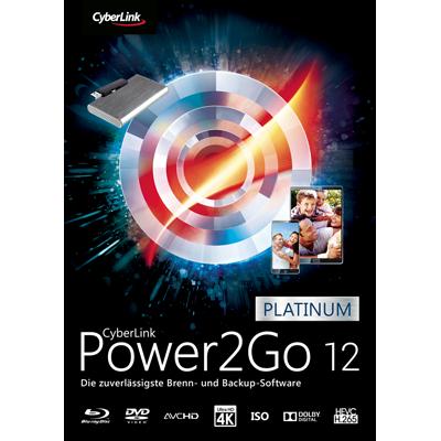 Power2Go 12 Platinum - ESD