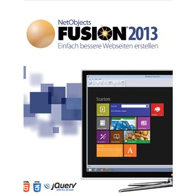 NetObjects Fusion 2013 Upgrade auf NetObjects Fusion 2013 - ESD