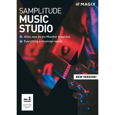 Samplitude Music Studio (2019) - ESD