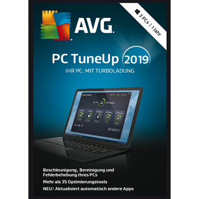 AVG PC TuneUp 2019 3PC / 12 Monate - ESD