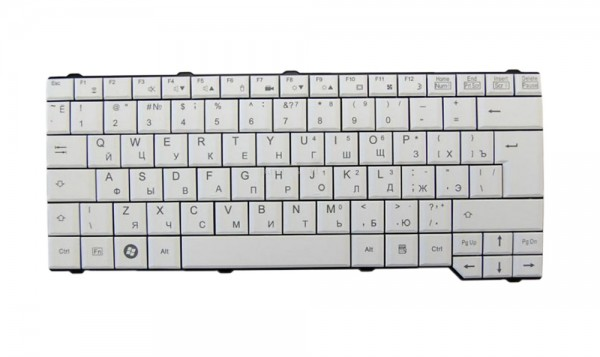 Fujitsu Lifebook - CP-297221-02 Notebook Tastatur - Layout - Russisch (RU) QWERTY