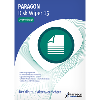 Paragon Disk Wiper 15 Professional - ESD