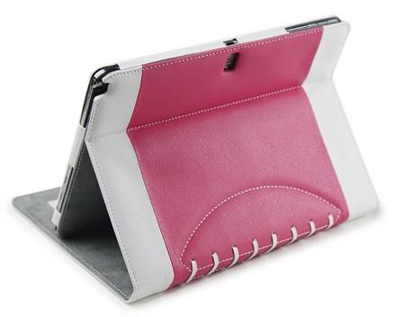 Noratio Smart Cover Football Style für Galaxy Tab 3 - 4 - rosa