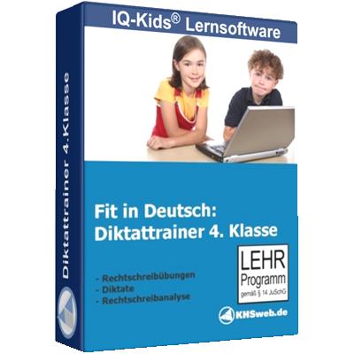 Fit in Deutsch - Diktattrainer - Klasse 4 - ESD
