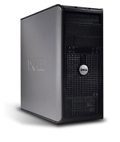 Dell OptiPlex GX 620 Tower PC Computer - Intel Pentium 4 CPU 3,2 GHz 512MB DDR2 500GB HDD DVD