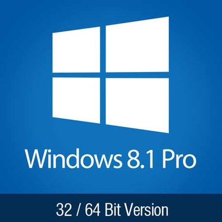 Windows 8.1 Pro Aktivierungsschlüssel für 32 oder 64 Bit