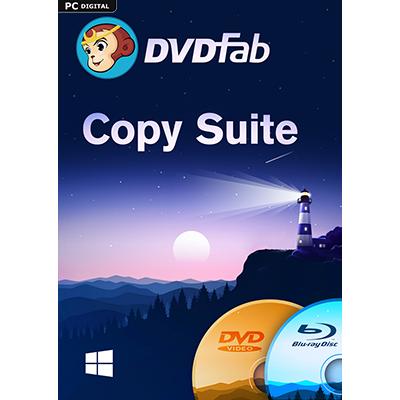 DVDFab Copy Suite (DVD Copy & Blu-ray Copy) (24 Monate) - ESD