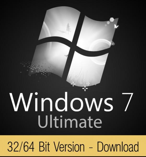 Windows 7 Ultimate Download Aktivierungsschlüssel für 32 / 64 Bit