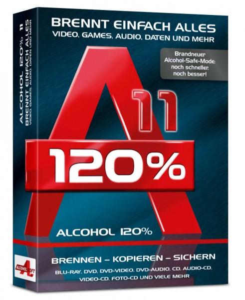 Alcohol 120% 11 - Brennprogramm