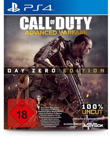 Call of Duty: Advanced Warfare Day Zero Edition - PS3 - USK 18