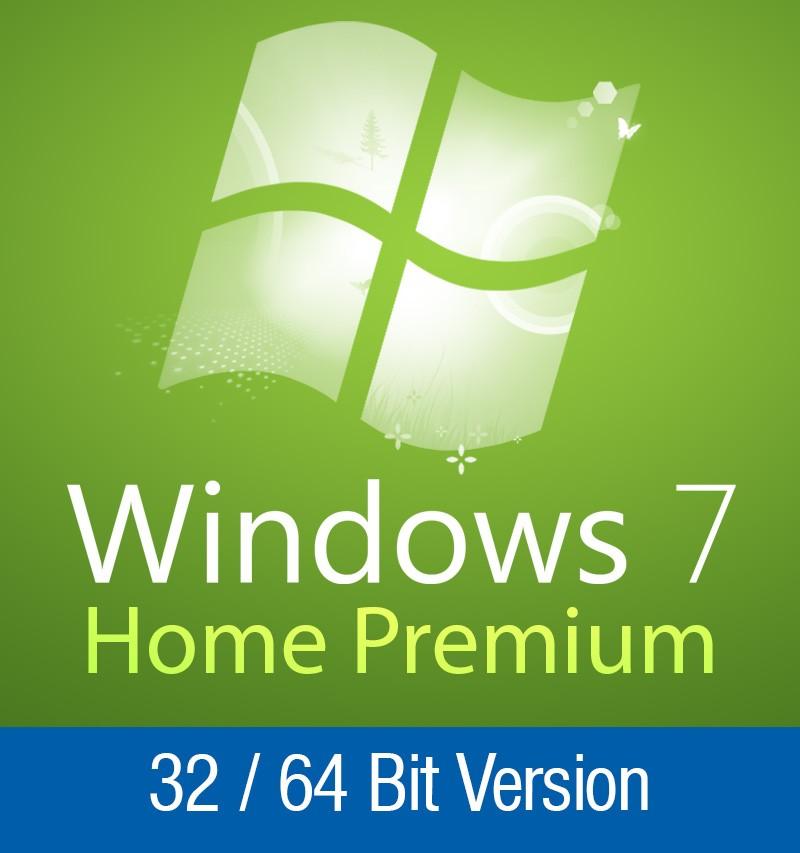 Windows 7 Home Premium 32 / 64 Bit