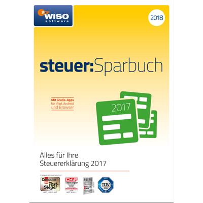 WISO steuer:Sparbuch 2018 (für Steuerjahr 2017) - ESD