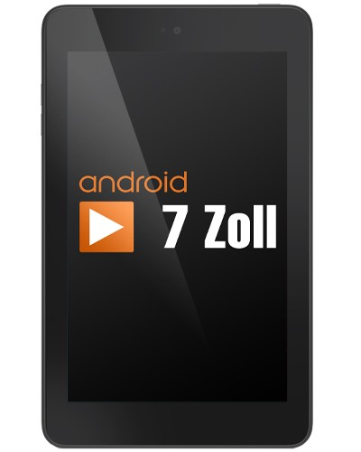 Dell Venue 7 3730 7 Zoll Tablet PC - 2x 1,6 GHz 1GB 8GB - Android 4.2 - Schwarz