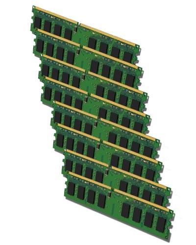 PC Arbeitsspeicher - 8x 1GB DDR2 - PC2-6400 800 MHz - nach Lagerbestand