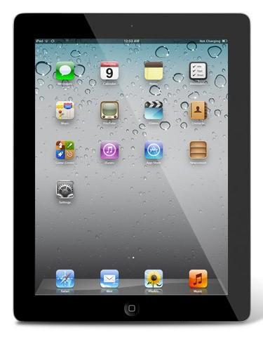 Apple iPad 3 (2012) - 64 GB - 4G (LTE) / WiFi / Bluetooth - Schwarz / Silber