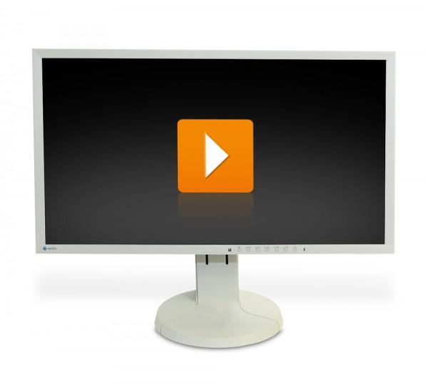 EIZO FlexScan EV2336W - 23 Zoll Full HD TFT Flachbildschirm Monitor - interne Lautsprecher - Weiß