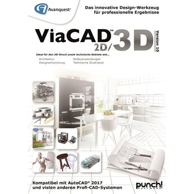 Avanquest ViaCAD 2D/3D Version 10 (Mac) - ESD