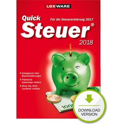 Lexware QuickSteuer 2018 - ESD