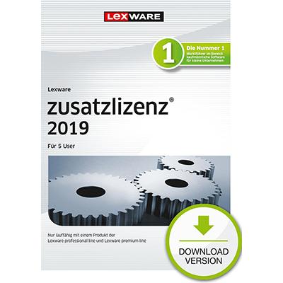 Lexware zusatzlizenz 2019 für 5 User - ESD