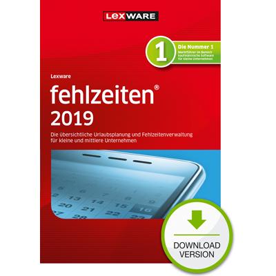 Lexware fehlzeiten 2019 - ESD