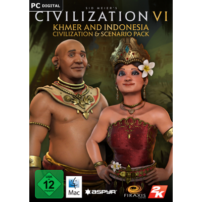 Sid Meier's Civilization VI Khmer and Indonesia Civilization & Scenario Pack - add-on - ESD