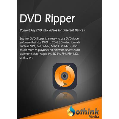 SothinkMedia DVD Ripper - Lebenslange Lizenz - ESD