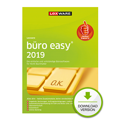 Lexware büro easy 2019 - ESD