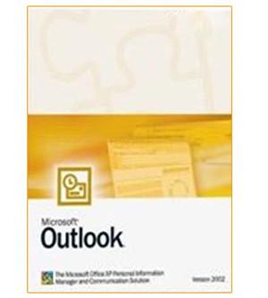 Microsoft Office Outlook 2002 – englisch