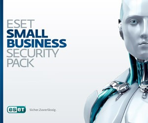 Eset Small Business Security Pack - 5 PC, 5 Mobile Geräte, 1 File Server, 8 Postfächer, 1 Jahr ESD