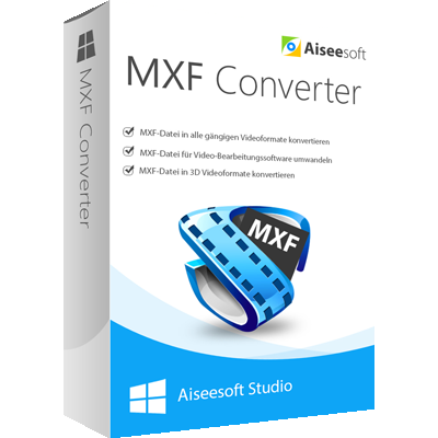 Aiseesoft MXF Converter - ESD