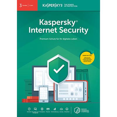 Kaspersky Internet Security (2019) - 3 Geräte / 12 Monate - ESD