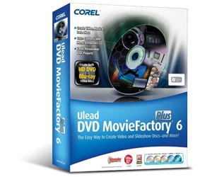 Corel Ulead DVD Movie Factory 6