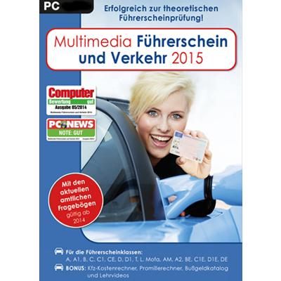 Multimedia Führerschein & Verkehr 2015 - ESD