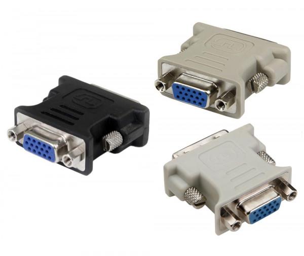 DVI zu VGA Adapter - Diverse Farben