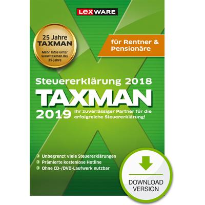 TAXMAN 2019 Rentner & Pensionäre - ESD