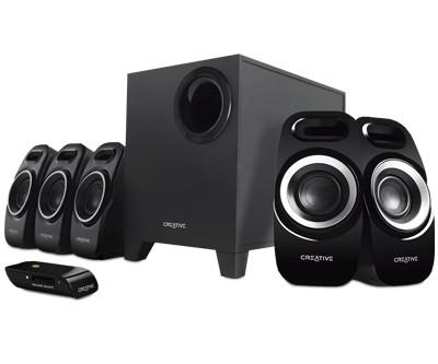 Creativ Inspire T6300 Home Entertainment 5.1 Sound-System - Lautsprecher