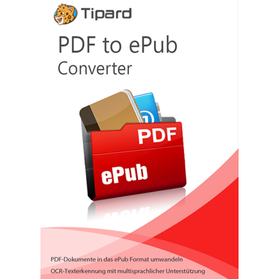 Tipard PDF to ePub Converter - lebenslange Lizenz - ESD