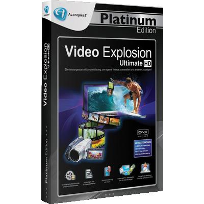 Video Explosion Ultimate - Avanquest Platinum Edition - ESD