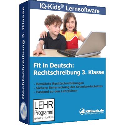 Fit in Deutsch Rechtschreibung 3. Klasse - ESD