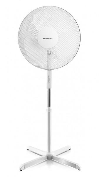 Emerio Stand-Ventilator - 40cm - 3 Blätter - Weiß - FN-114204