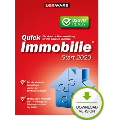 Lexware QuickImmobilie Start 2020 - ESD